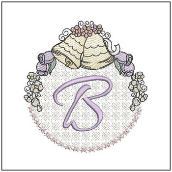 Joyful Bells Font - B - Embroidery Designs