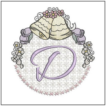 Joyful Bells Font - D - Embroidery Designs
