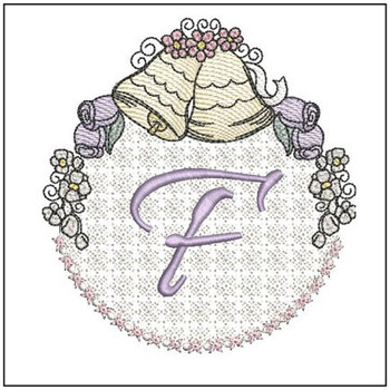Joyful Bells Font - F - Embroidery Designs