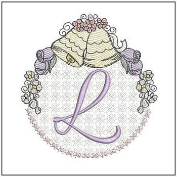 Joyful Bells Font - L - Embroidery Designs