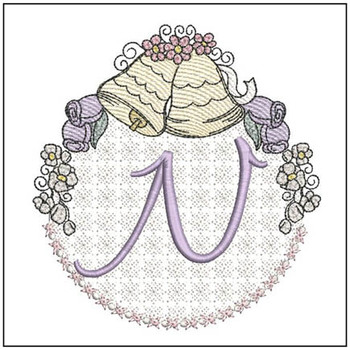 Joyful Bells Font - N - Embroidery Designs