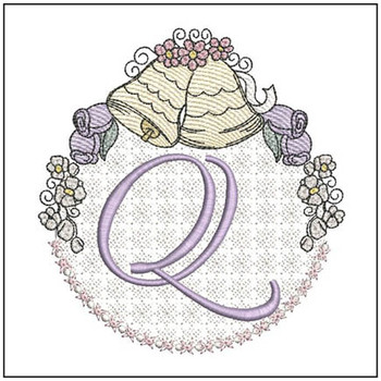 Joyful Bells Font - Q - Embroidery Designs