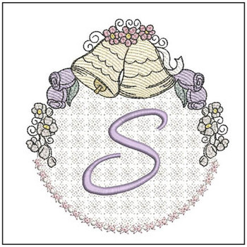 Joyful Bells Font - S - Embroidery Designs