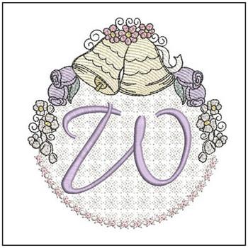 Joyful Bells Font - W - Embroidery Designs