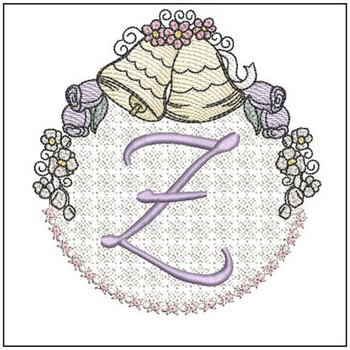 Joyful Bells Font - Z - Embroidery Designs