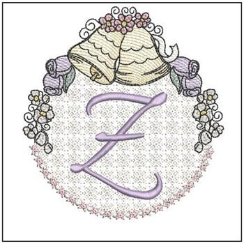 Joyful Bells Font - Z - Embroidery Designs