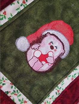 Jolly Hedgehog Applique - Embroidery Designs