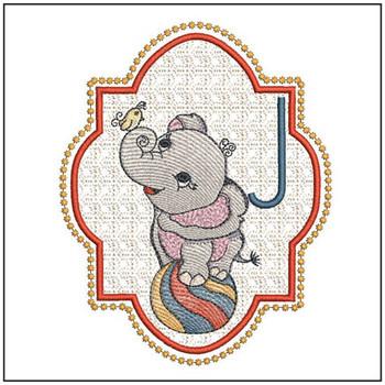 Circus Ellie ABC's - J - Embroidery Design