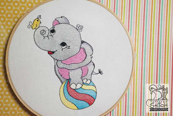 Circus Ellie - Embroidery Designs