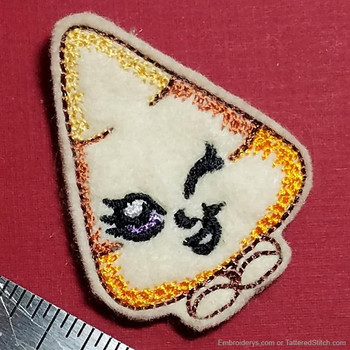 Cute Candy Corn Felty - Embroidery Designs