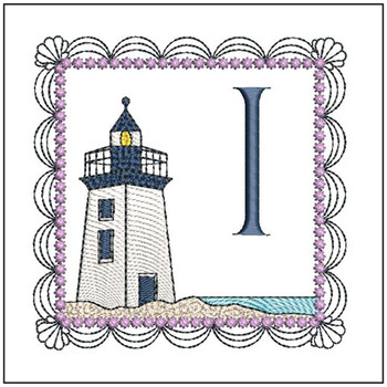 Lighthouse ABC's Applique - I - Embroidery Designs