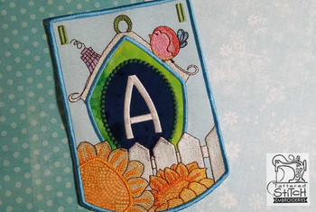 Birdhouse - Bundle- Letters - A-E - Embroidery Designs