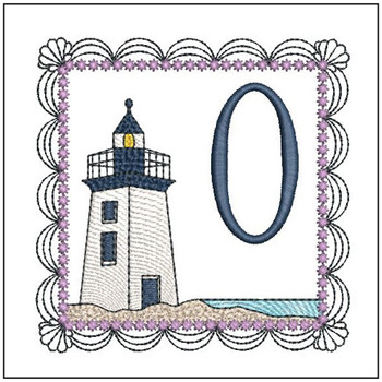 Lighthouse ABCs - O - Embroidery Designs