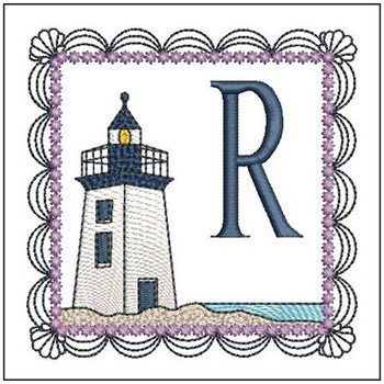 Lighthouse ABCs - R - Embroidery Designs