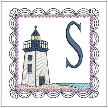 Lighthouse ABCs - S - Embroidery Designs