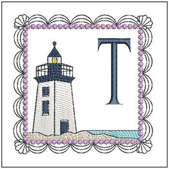 Lighthouse ABCs - T - Embroidery Designs