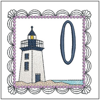 Lighthouse ABC's Applique - 0 - Embroidery Designs