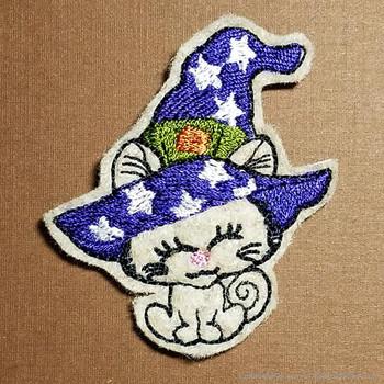 Halloween Kitty Feltie - Embroidery Designs
