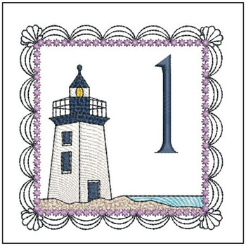 Lighthouse ABC's Applique - 1 - Embroidery Designs