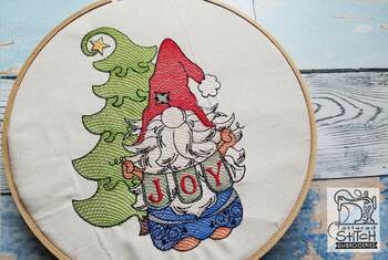 Joy Gnome - Embroidery Designs