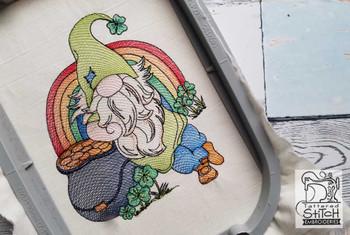Leprechaun Gnome - Embroidery Designs