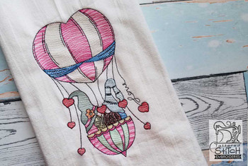 Kissing Gnomes - Embroidery Designs