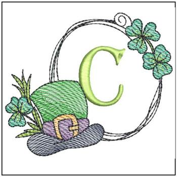 Shamrock ABCs -C - Embroidery Designs