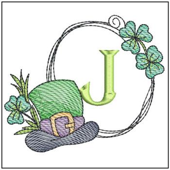 Shamrock ABCs - J - Embroidery Designs