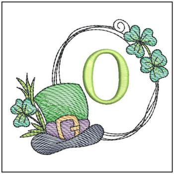 Shamrock ABCs - O - Embroidery Designs