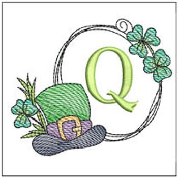 Shamrock ABCs - Q - Embroidery Designs