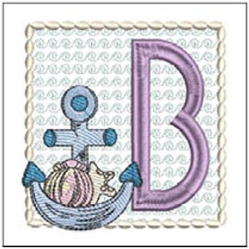 Sea Anchor ABCs - B - Embroidery Designs