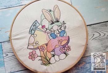 Farm Fresh Eggs Gnome - Embroidery Designs