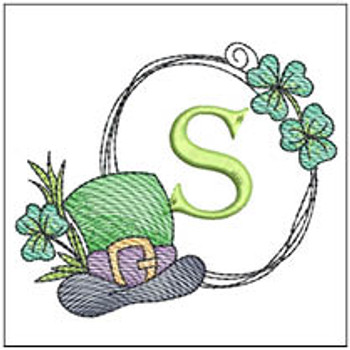 Shamrock ABCs - S - Embroidery Designs
