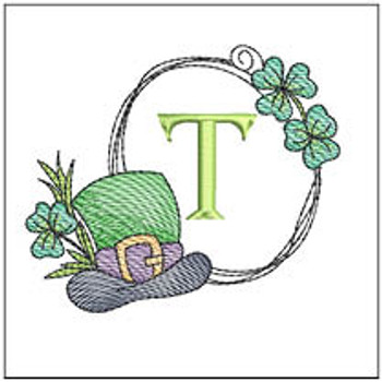 Shamrock ABCs - T - Embroidery Designs