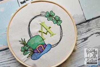 Shamrock ABCs - X- Embroidery Designs
