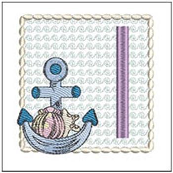 Sea Anchor ABCs - I - Embroidery Designs