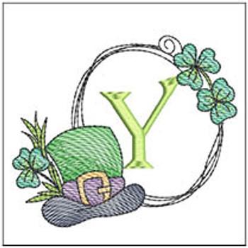 Shamrock ABCs - Y - Embroidery Designs