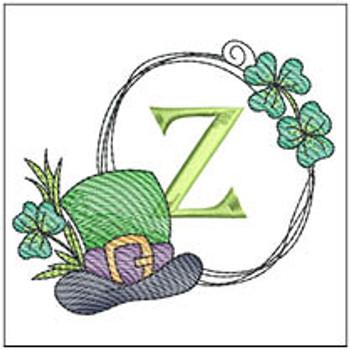 Shamrock ABCs - Z - Embroidery Designs