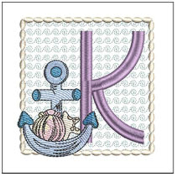 Sea Anchor ABCs - K - Embroidery Designs