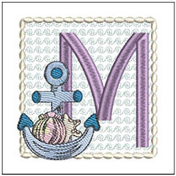 Sea Anchor ABCs - M - Embroidery Designs