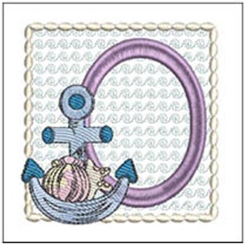 Sea Anchor ABCs - O - Embroidery Designs