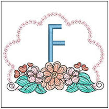 Wildflower ABCs - F - Embroidery Designs