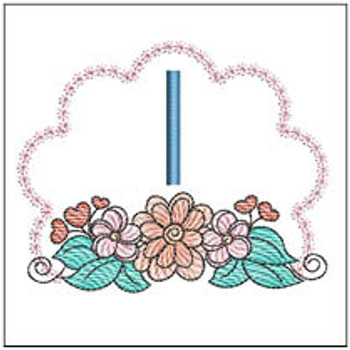 Wildflower ABCs - I - Embroidery Designs