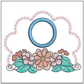 Wildflower ABCs - O - Embroidery Designs