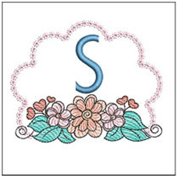 Wildflower ABCs - S - Embroidery Designs