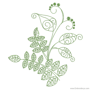 Elegant & Fanciful Botanics - Embroidery Designs