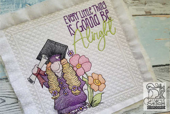 """Quilt Block Background #3 (Background Only) - Fits a  5x5"""", 6x6"""", 7x7"""", 8x8"""" & 10x10""""  Hoop - Machine Embroidery Designs"""