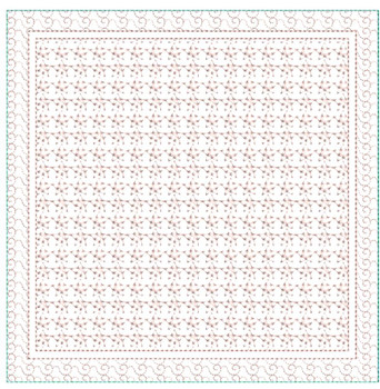"Quilt Block Background #6 (Background Only)-Fits a  5x5"", 6x6"", 7x7"", 8x8"" & 10x10""  Hoop - Machine Embroidery Designs"
