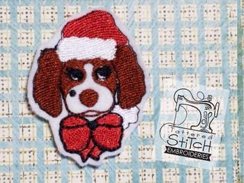 Christmas Springer Feltie - Embroidery Designs