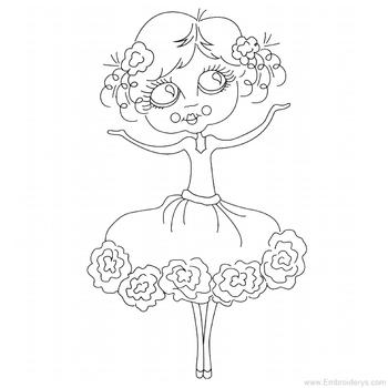 Super Sweet Ballerina - Embroidery Designs